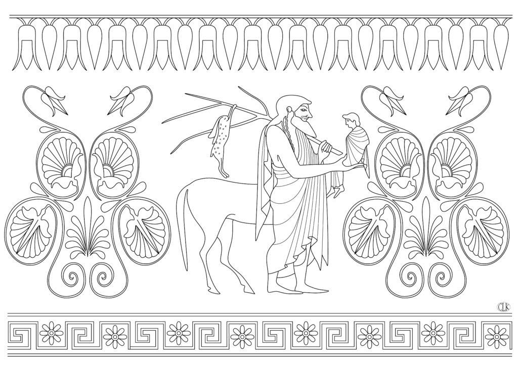 The centaur chiron.